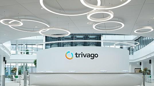 Bürofläche für 1800 Mitarbeiter im Düsseldorfer Medienhafen  - Trivago Campus