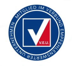 Mitglied im V.E.U. - Verband empfehlenswerter Unternehmen