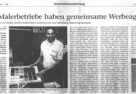 Handwerksblatt 19. April 2007