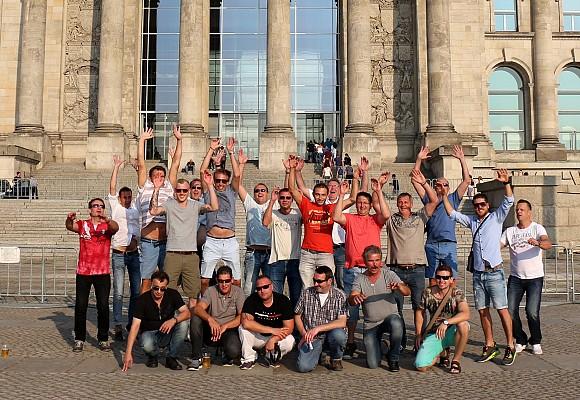 Betriebsausflug 2016 – Berlin ruft – Team Santec Farbkonzepte kommt!!!
