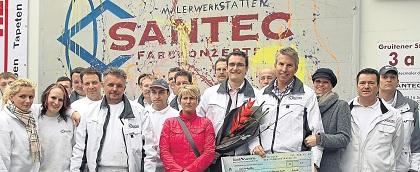 Wir feiern 10 Jahre Santec Farbkonzepte GmbH